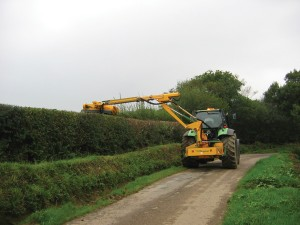 Kidd Farm Hedgecutters with telescopic boom