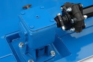 Drive line protected by shock absorbing couplings