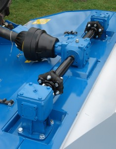 All Kidd Topper have direct gearbox drive