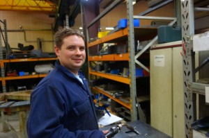 Adam Ford, Team Leader Fabrication and Welding