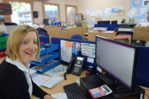 Justine Stenning, Accounts Controller