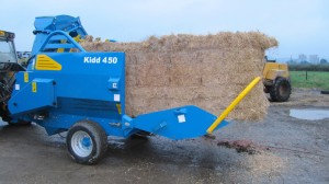 Will take the largest bales produced, round or square.