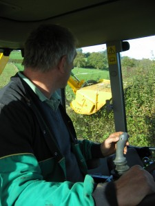Kidd Farm Hedgecutters joystick control